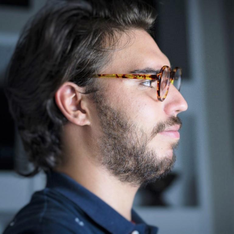 Hipster eyeglasses